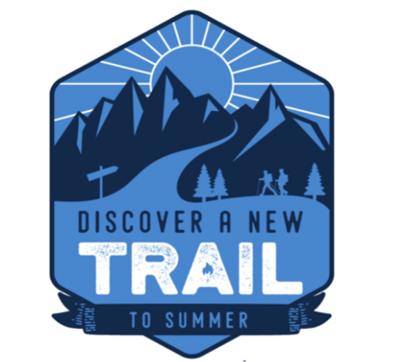 Discover a new trail logo